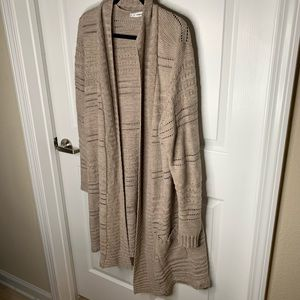 Maurices size 3 long length of duster cardigan